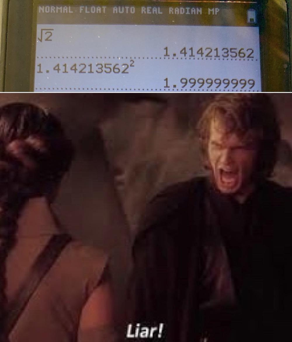 It can't be true