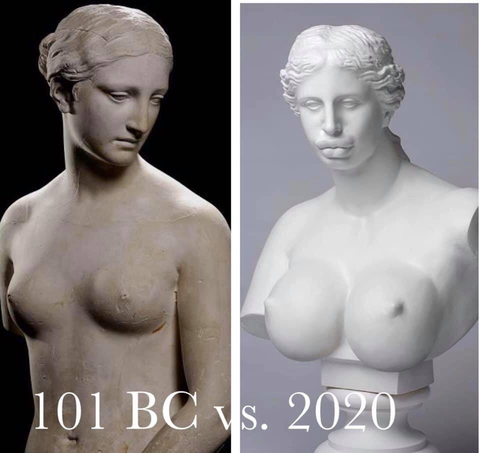 Beauty standards.