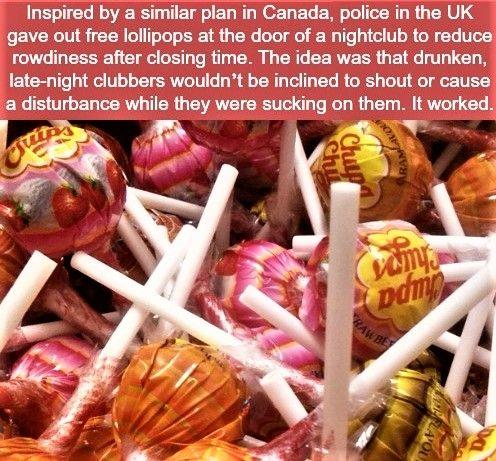 Lollipops to the rescue