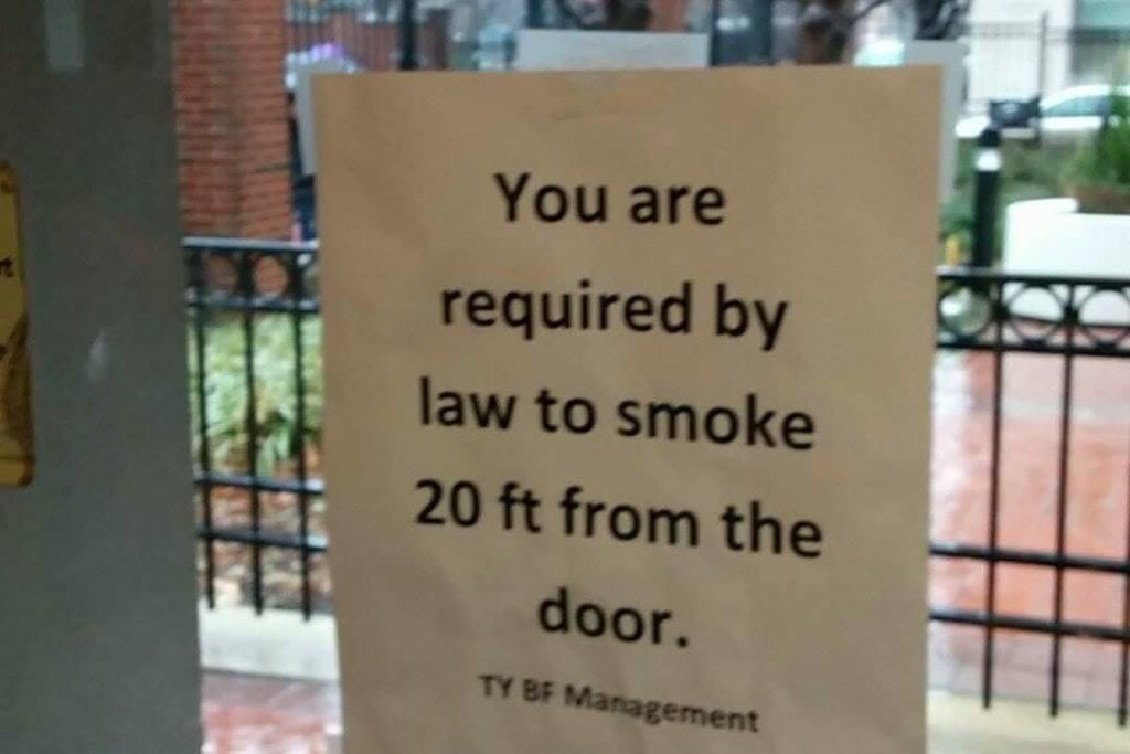 Bad news for non-smokers...