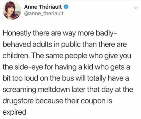 Adults who don't like children are the worst
