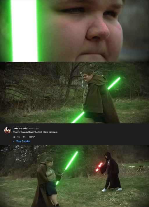 Star Wars The Rise Of Blood Pressure