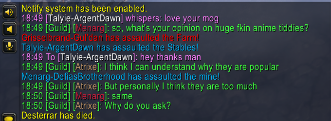 people say that retail wow community is dead, but you never see whispers like this in classic!