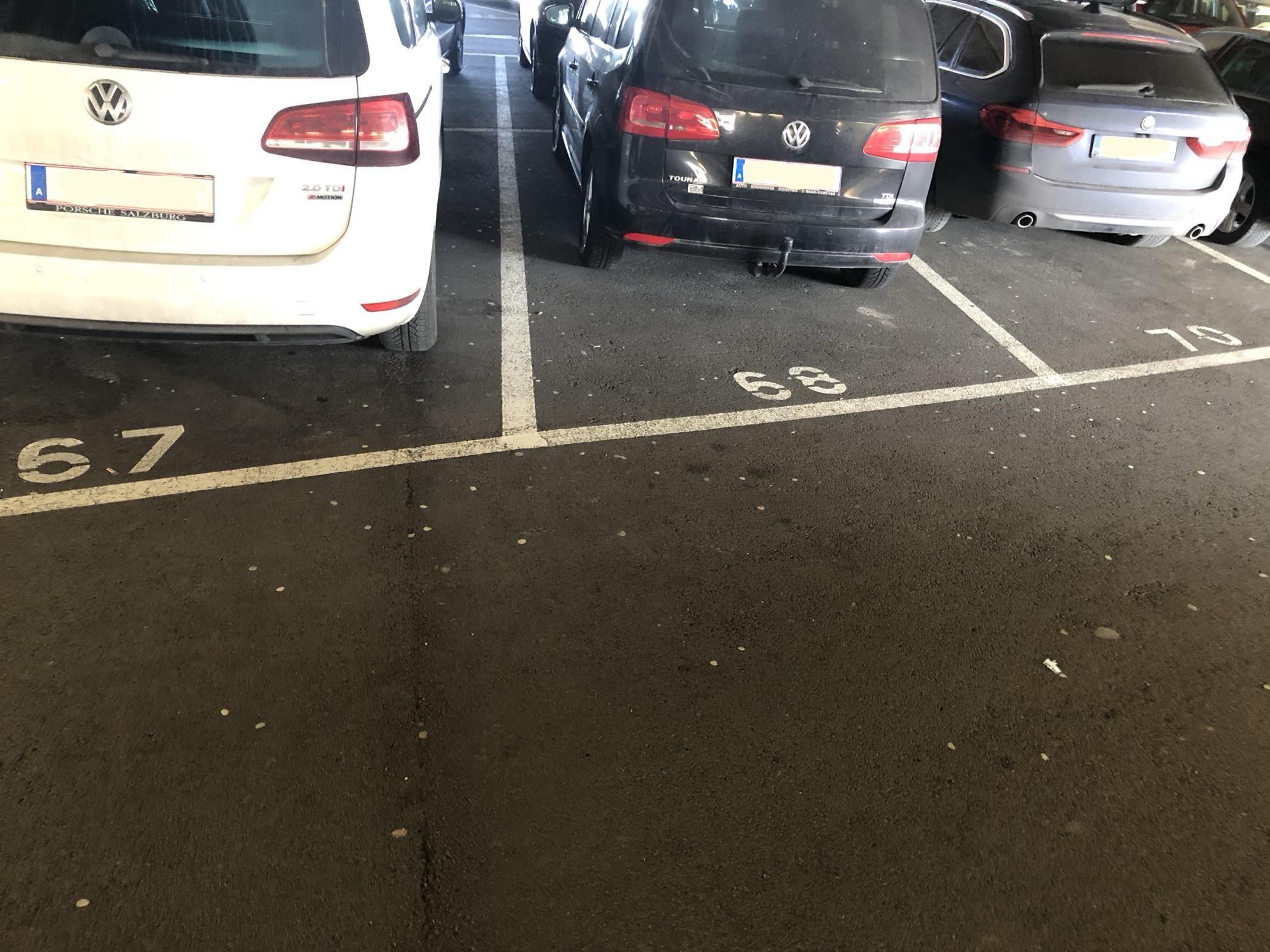 Austria, where even the car parks have no fun