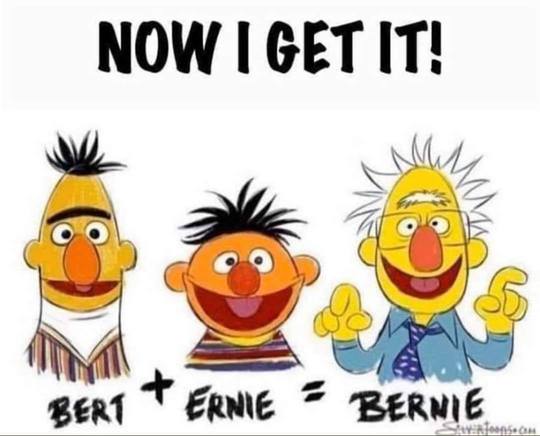 Even Bert and Ernie needs your financial support!