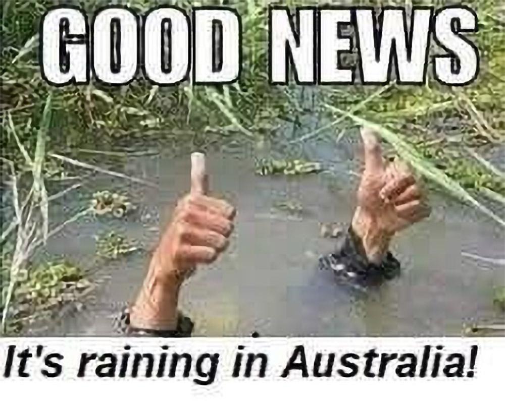 Finally some rain mates!