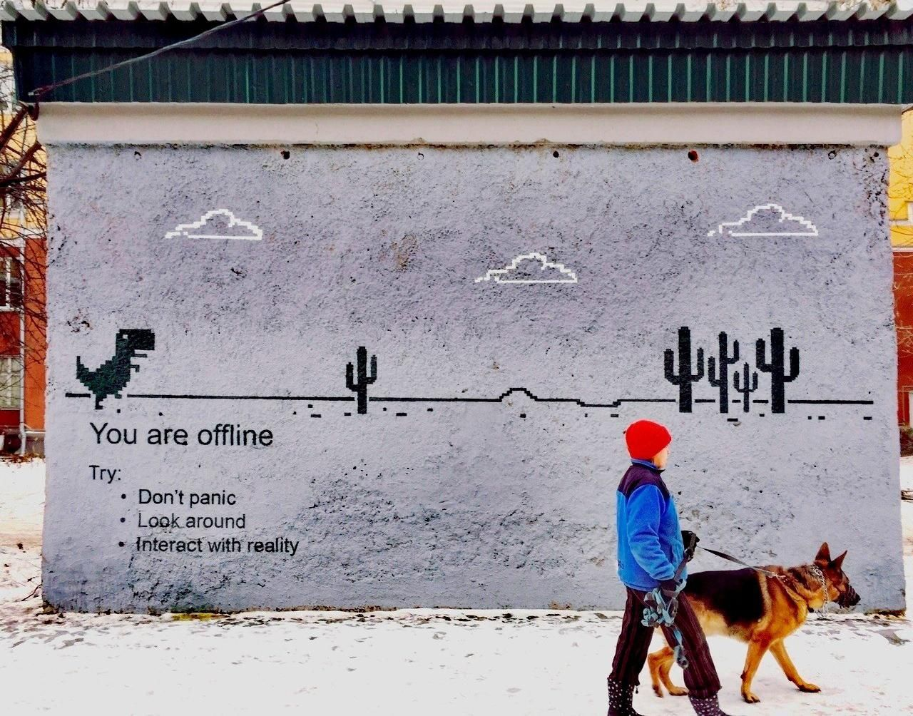 This graffiti