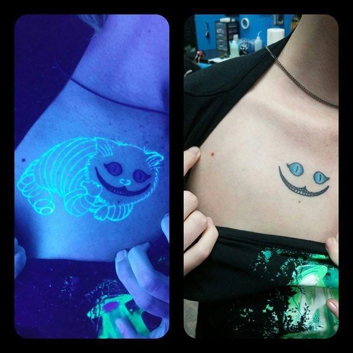 Tattoo under UV