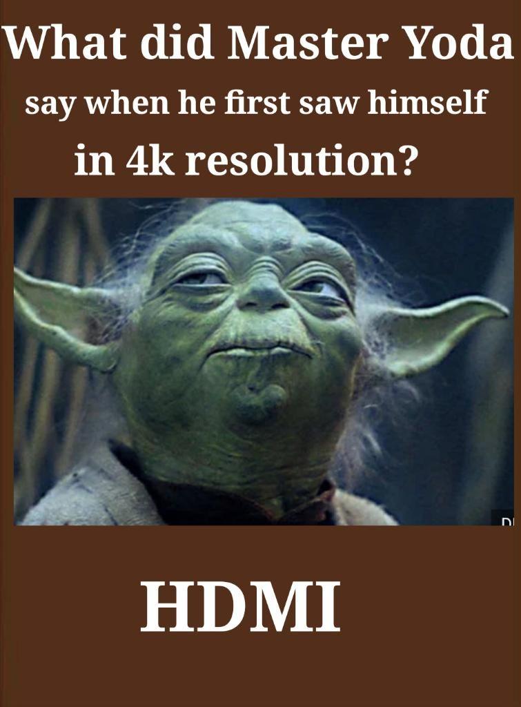 HDMI?