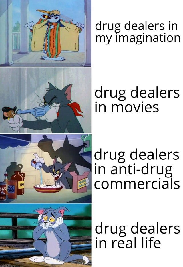 Life of drug dealers.