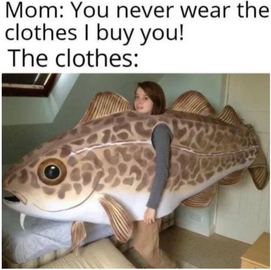 Can fish suck though?