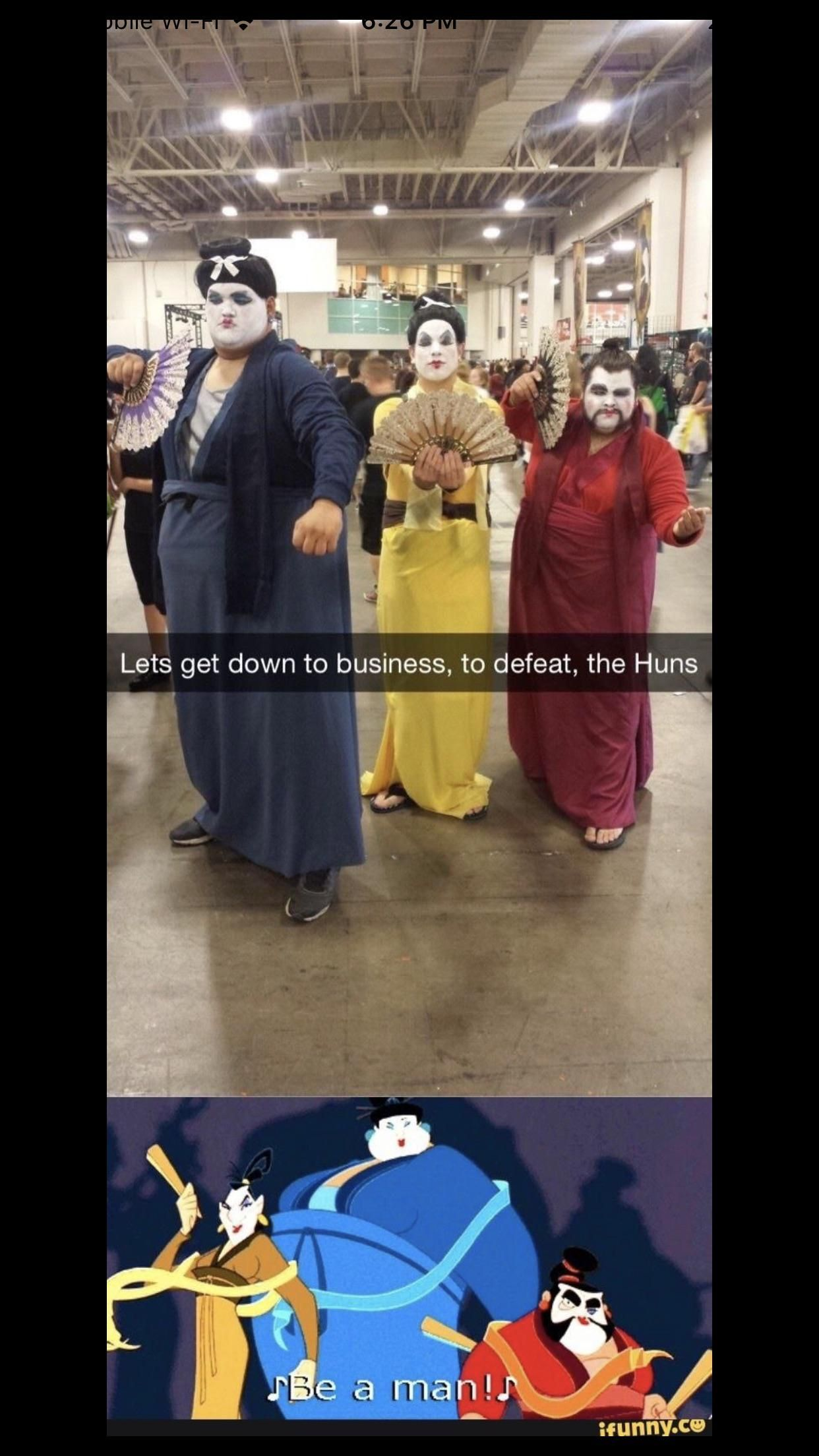 Classic Mulan.