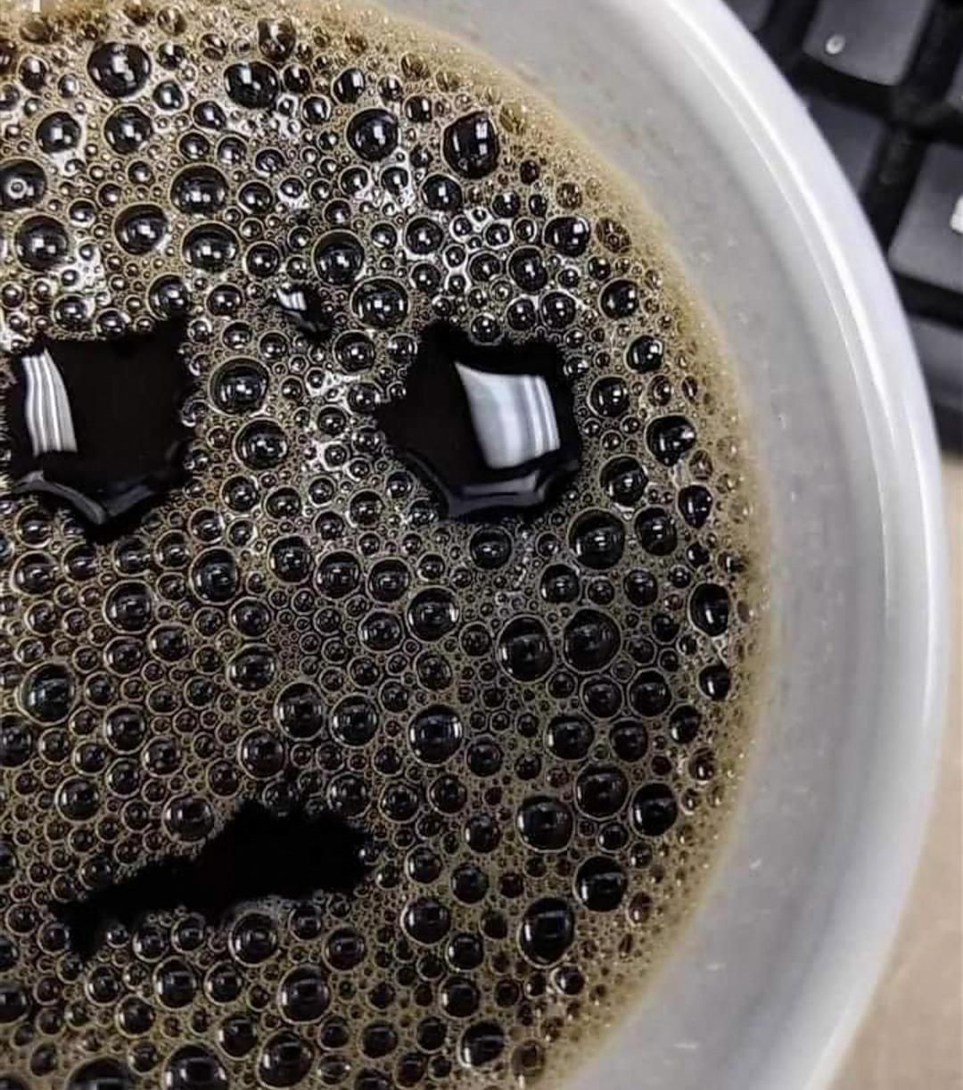 I asked for a DARK coffee, not a Depressed one