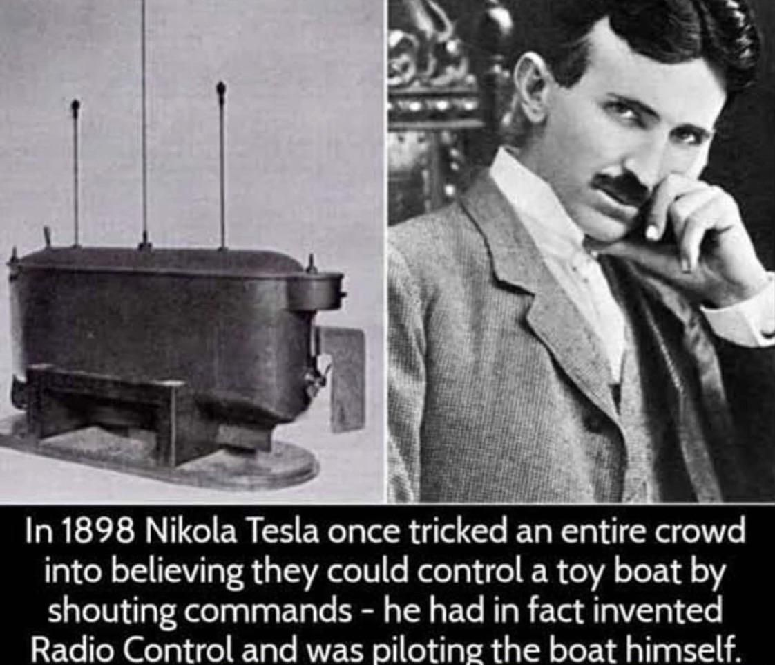 Trolled by Tesla