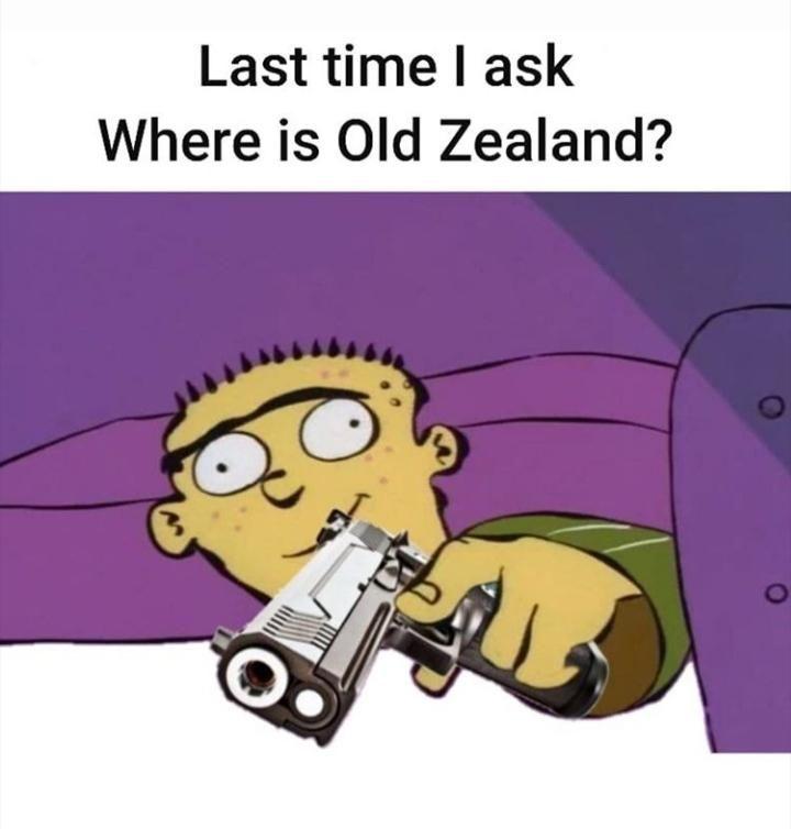 Where old Kiwi land ?