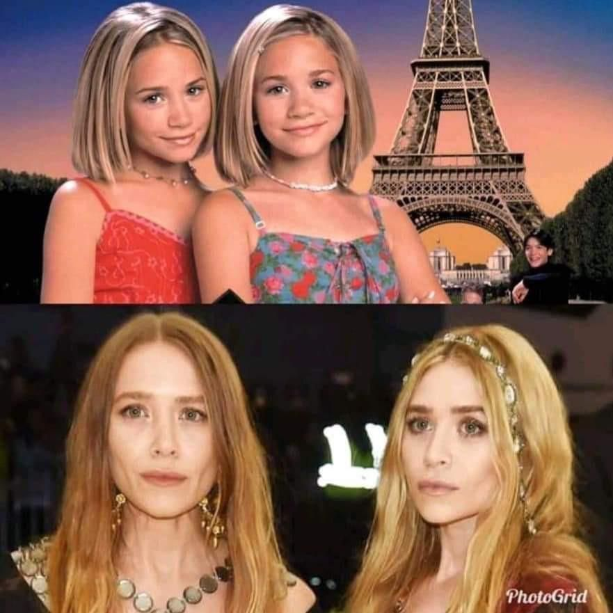 Happy 87th Birthday to the Olsen Twins!