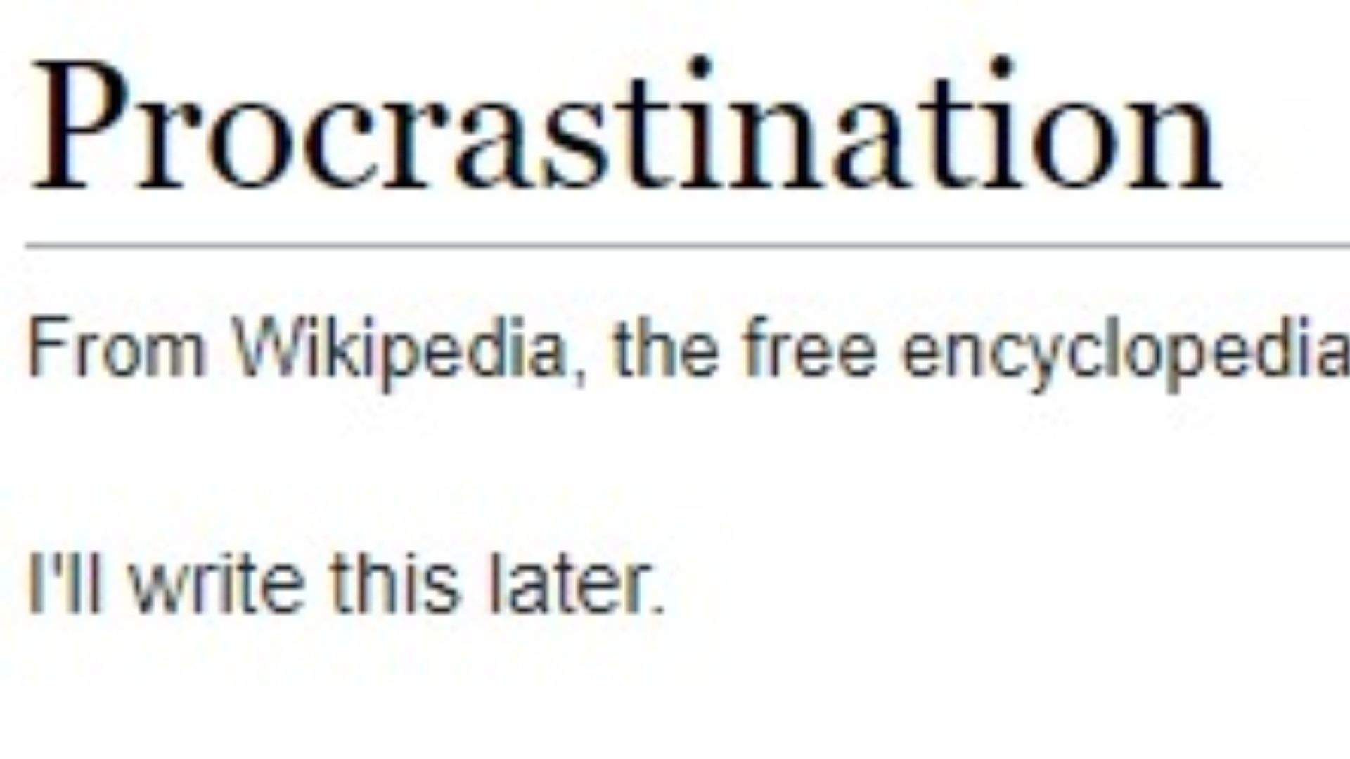 Best wikipedia page ever, so accurate
