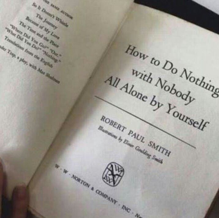 Finally, a book just for me.