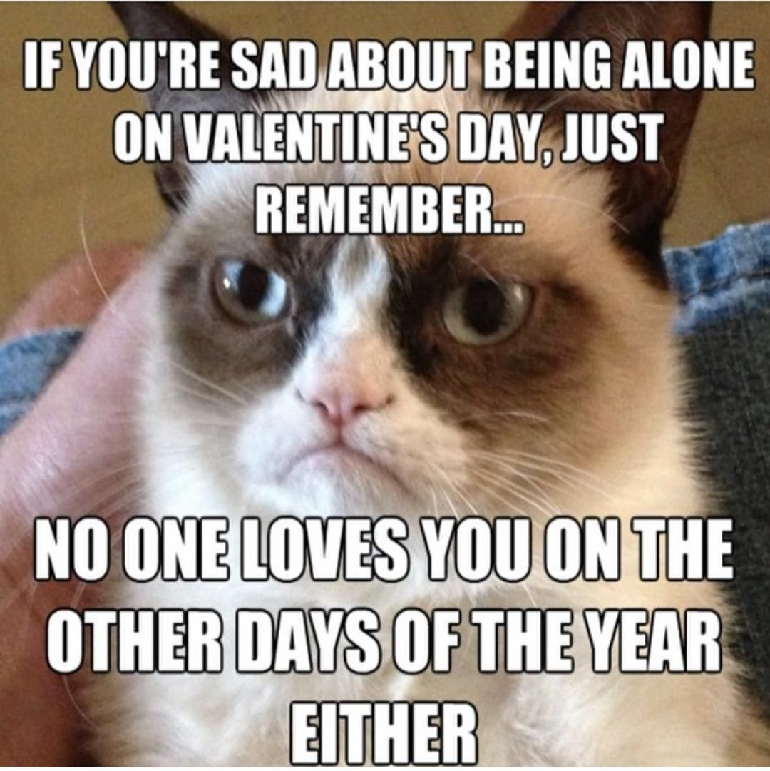 No Valentine's day date? Look on the bright side.