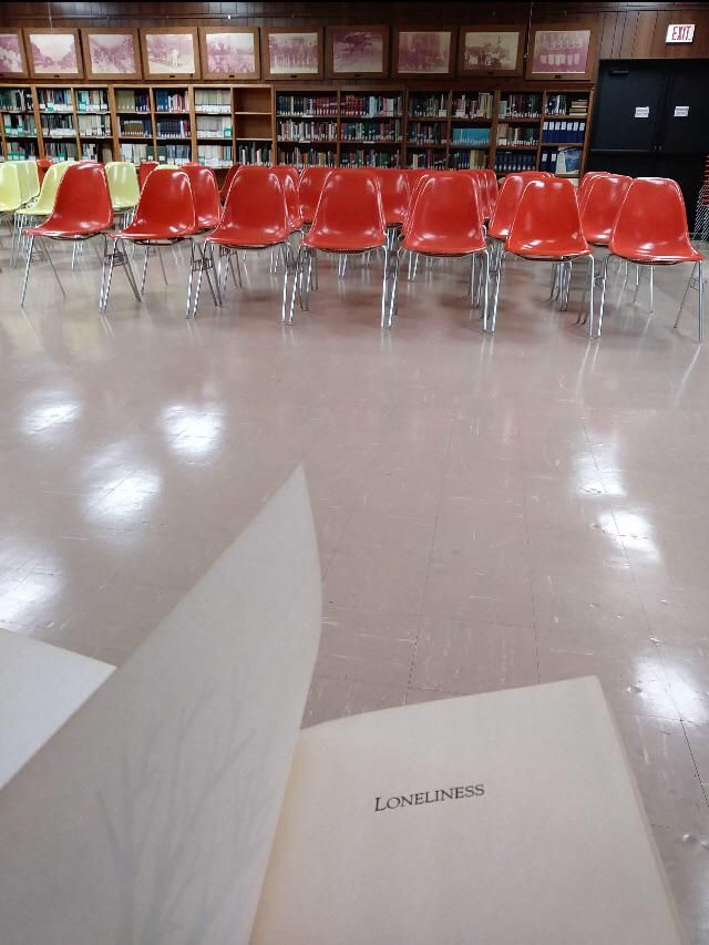 Nobody came to my loneliness seminar
