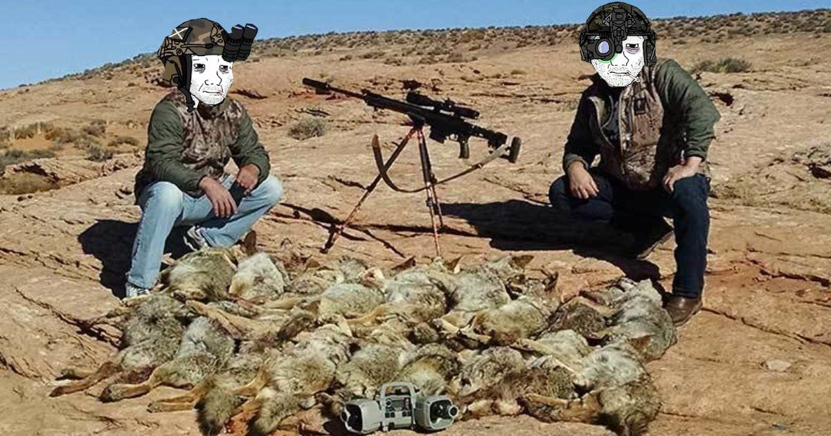Alright guys, We took care of those damn Hyenas. You can go back to regular shitposting now.