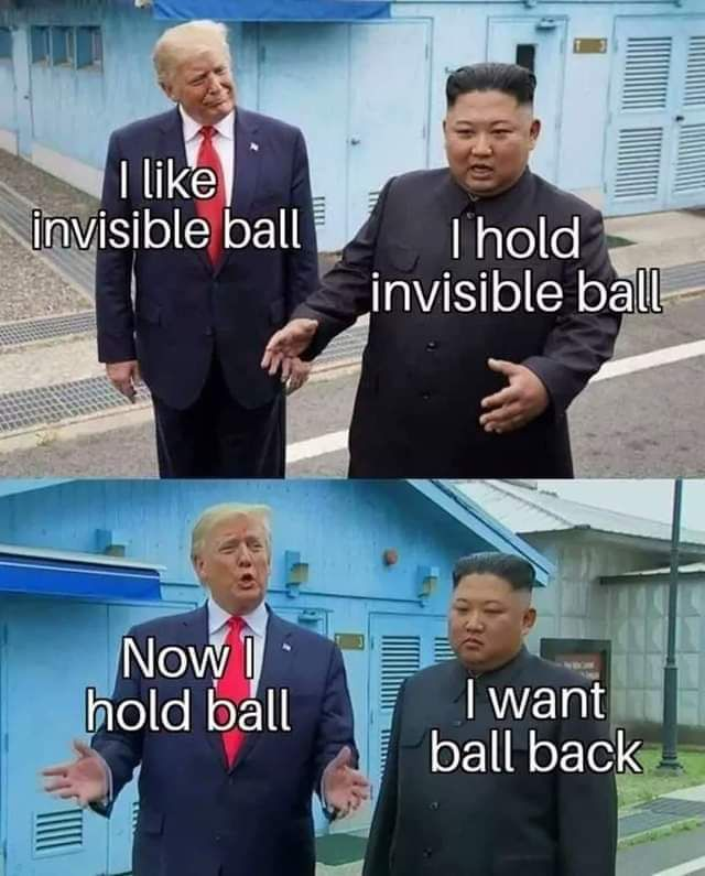 Invisible ball