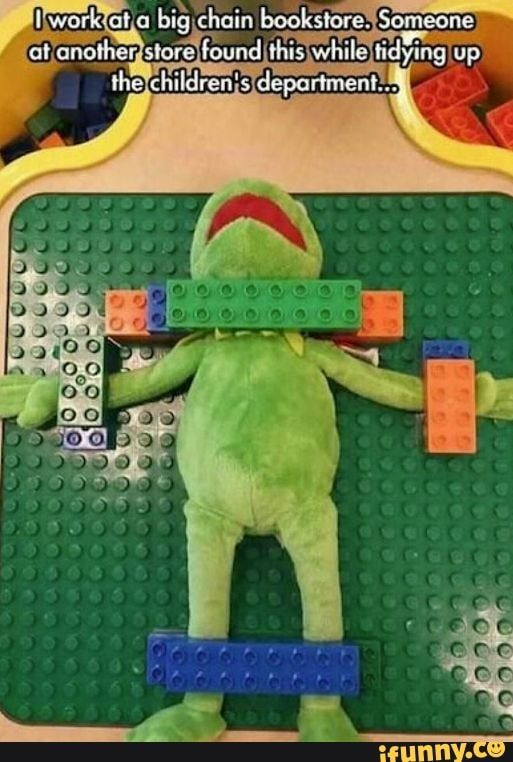 I don't think Kermit remembered his safe word
