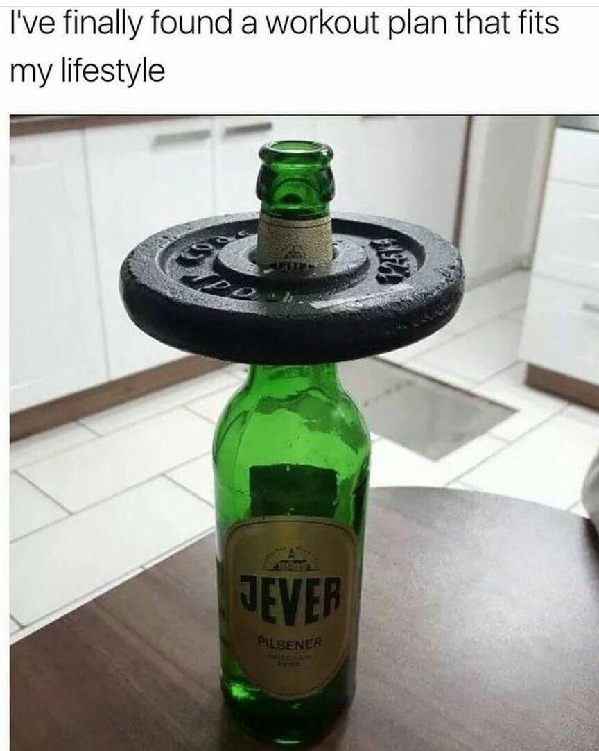 I'm gonna get so ripped...