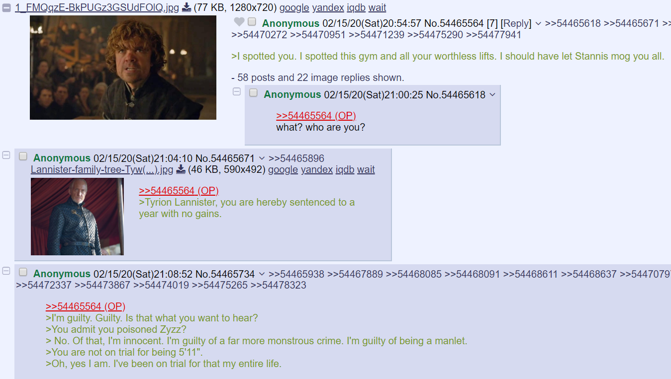 It's /fit/ story time