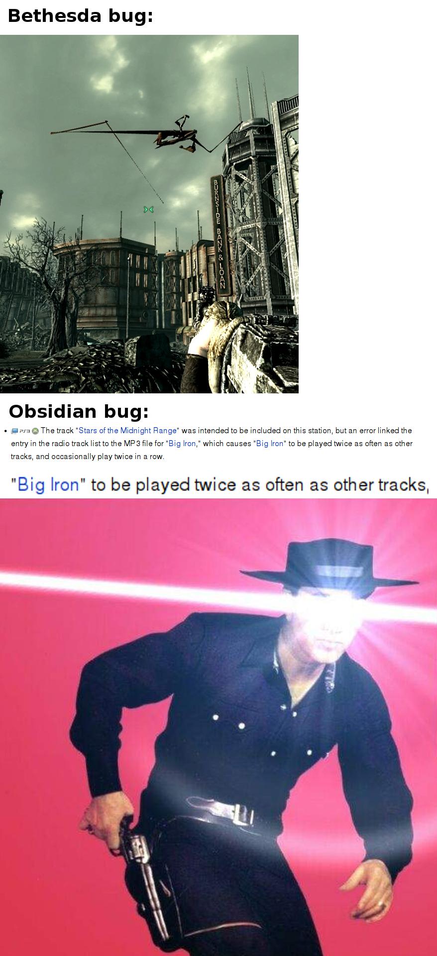 [Big Iron intensifies]