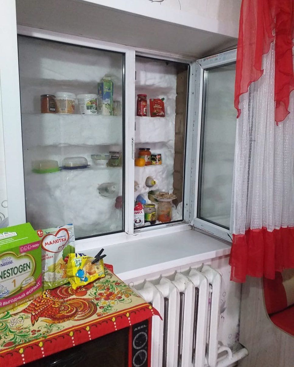 If you don't have a fridge - use snow instead
