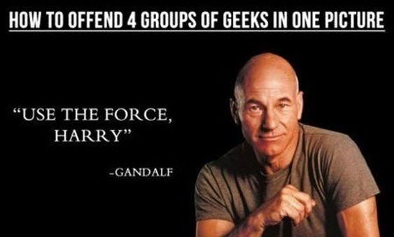 How to offend geeks with one picture