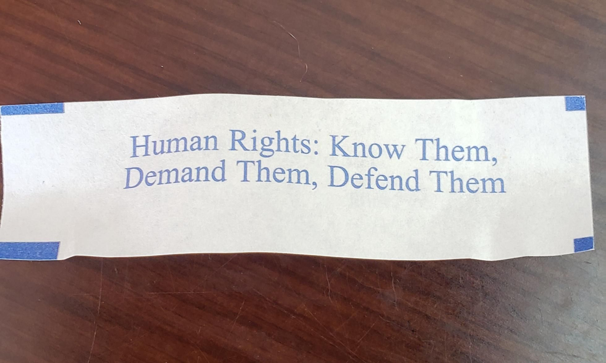 I got the most concerning fortune cookie today
