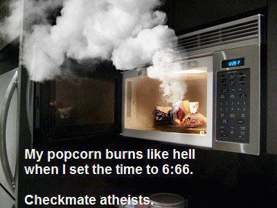 Your move, atheists.