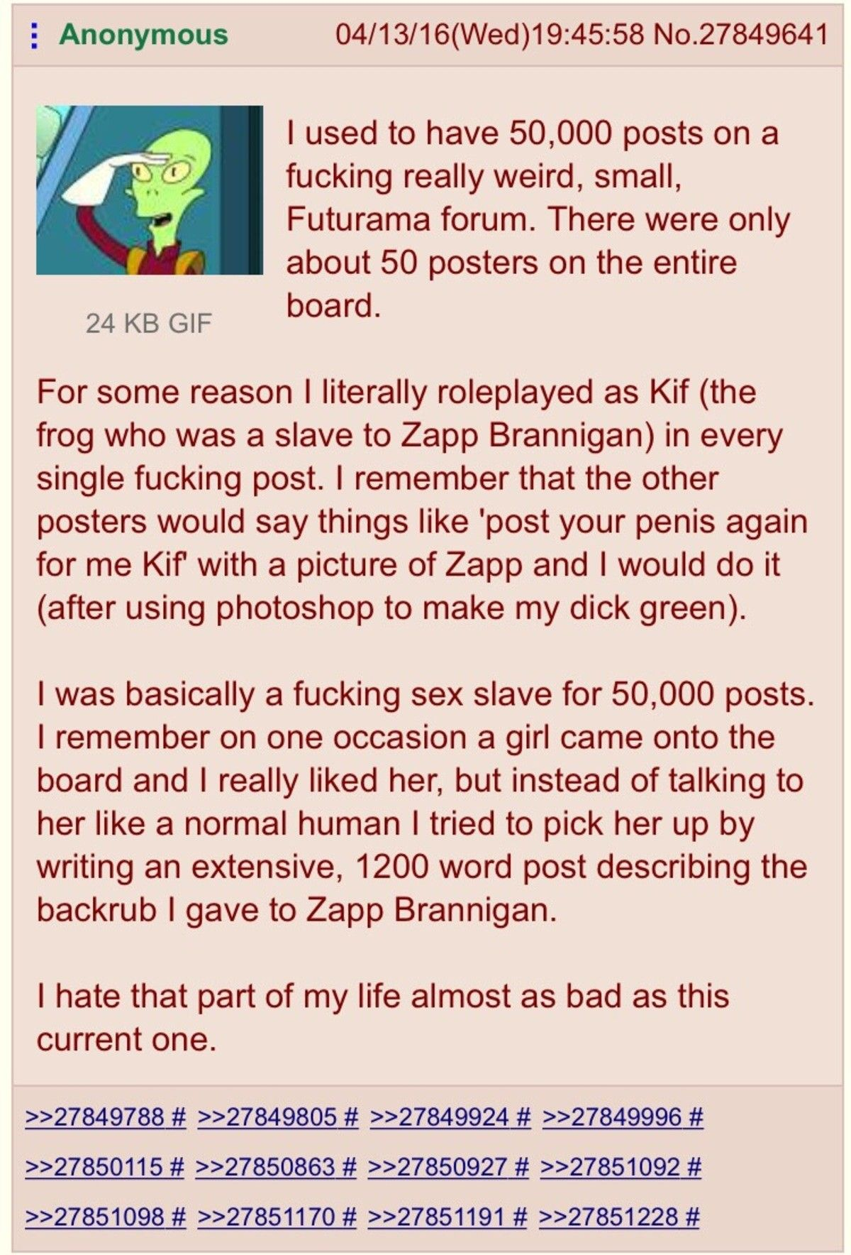 """""""Kif"""" is spanish for """"cuck"""""""