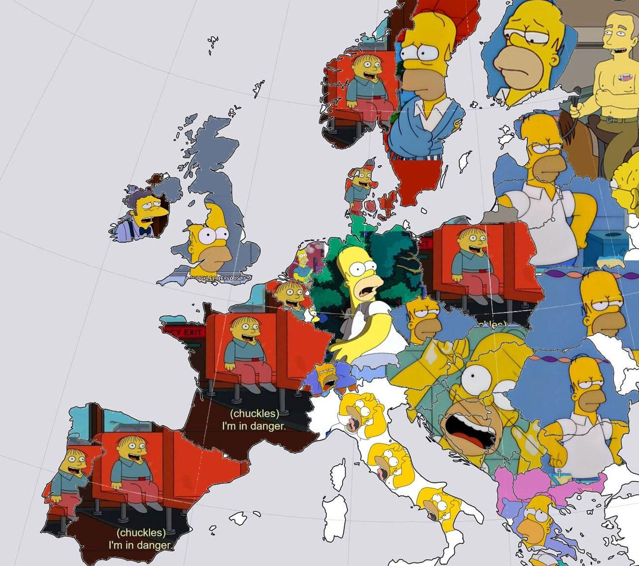 All of Europe right now