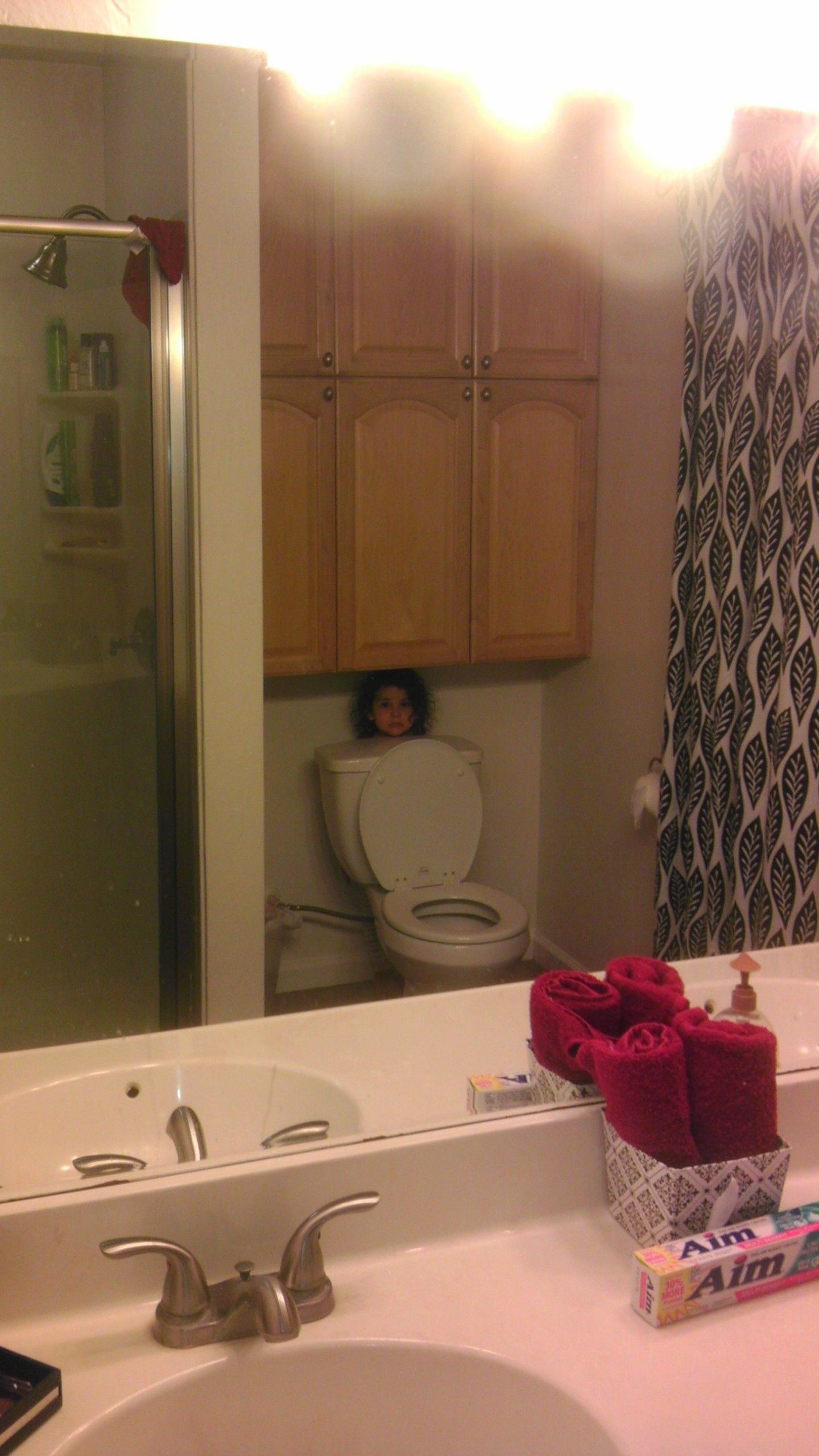 My daughter is also going pro at Hide n Seek.