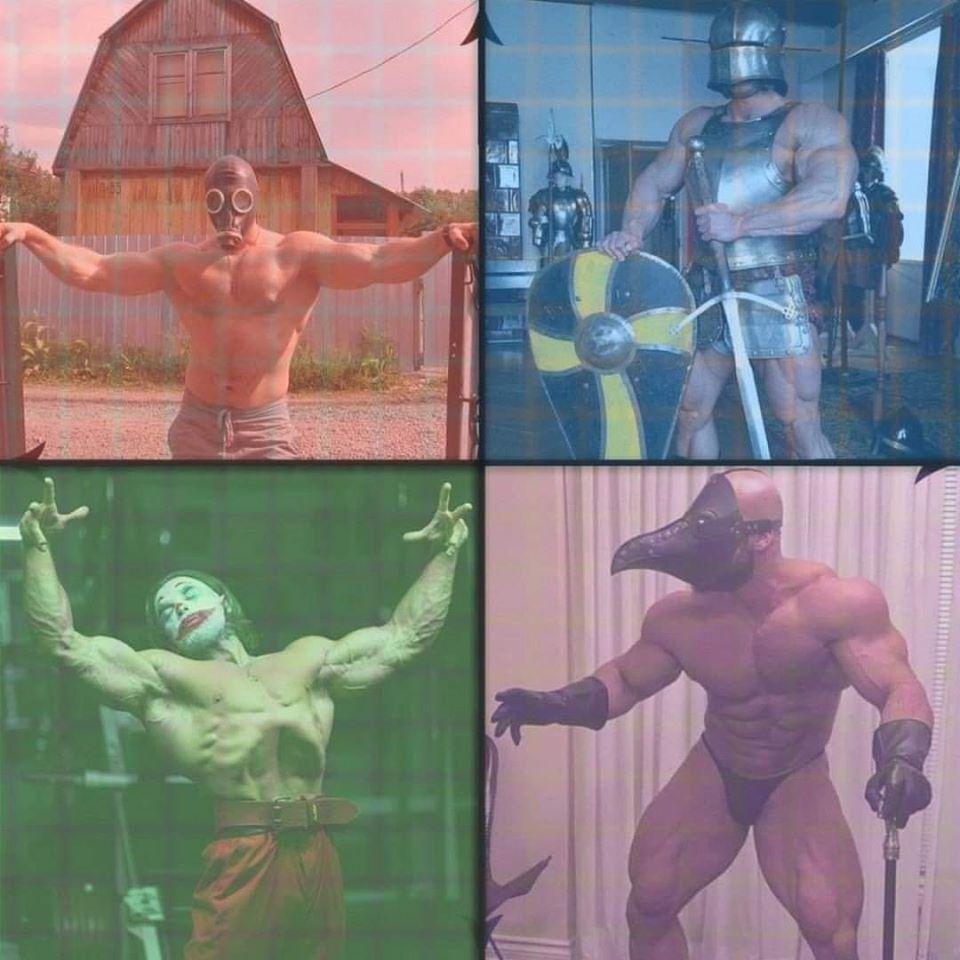 The 4 Chadmen of the Political Apocalypse