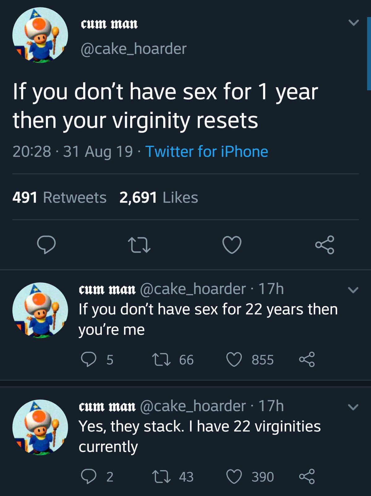 30 virginities is worth 1 wizard