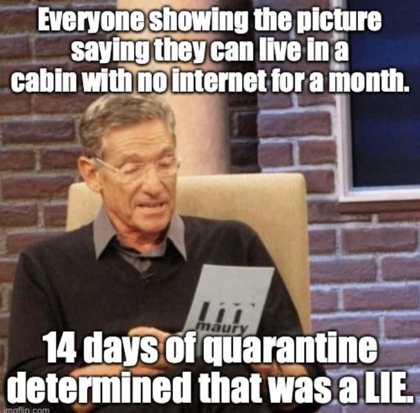 And the lie detector says....