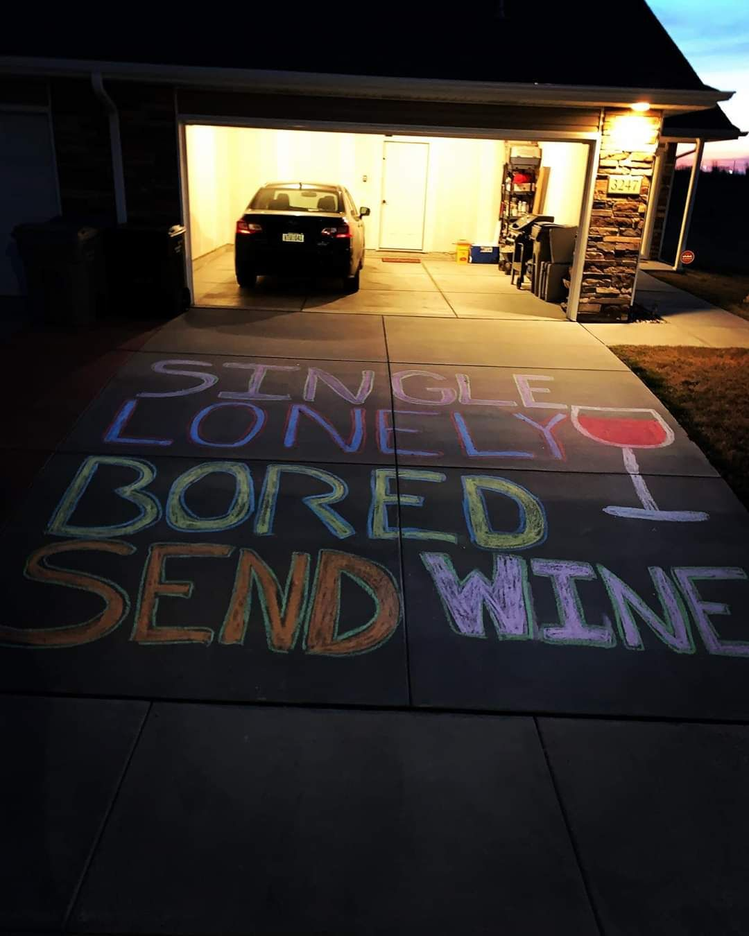 Chalk art done right