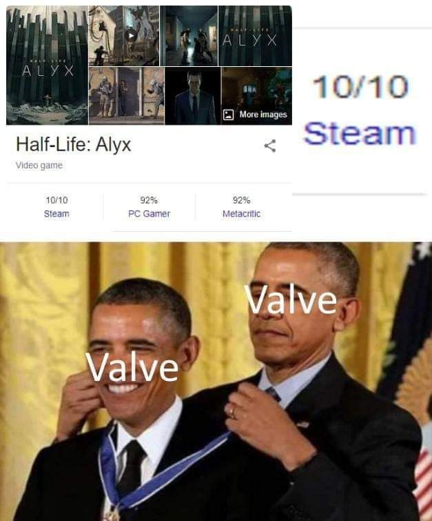 Valve playing themselves