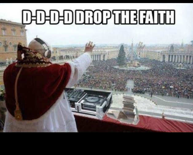 Dddrop the faith