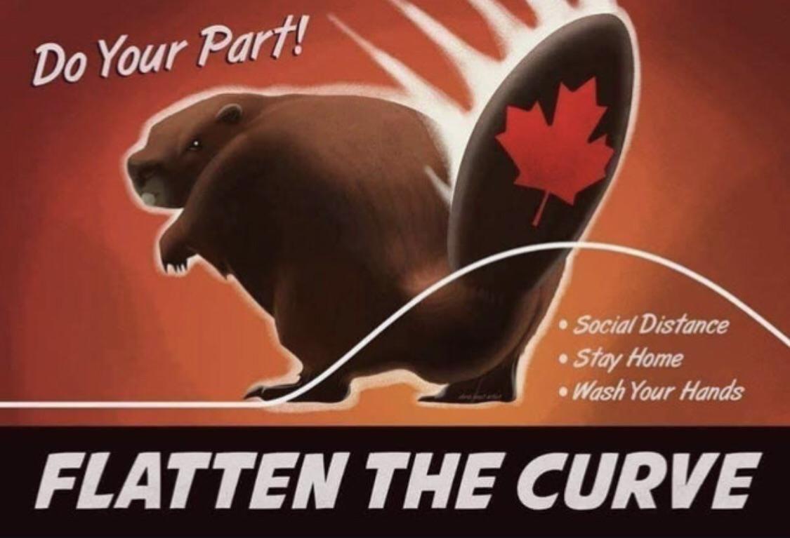Canadian coronavirus poster