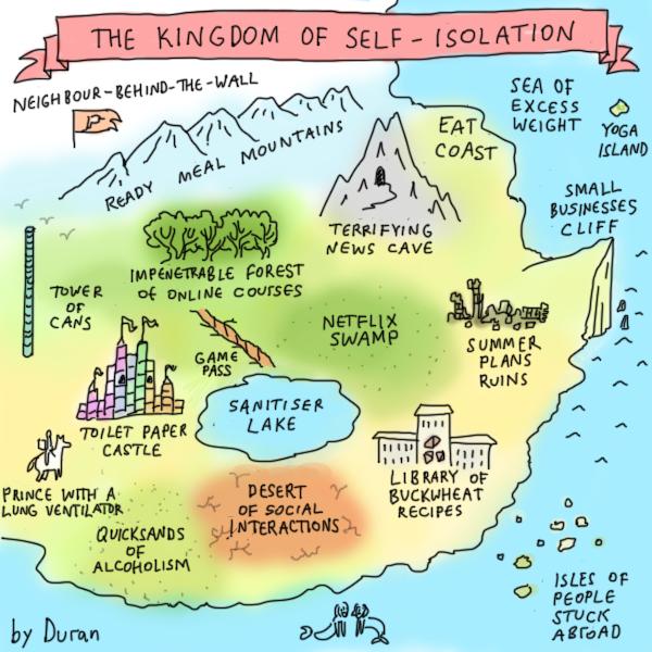 The Kingdom of Self-Isolation
