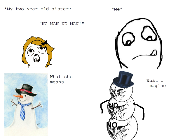 Snowman Rage