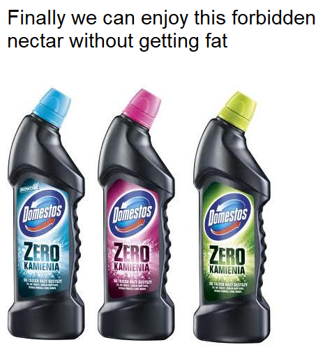 It even comes in 3 tastes