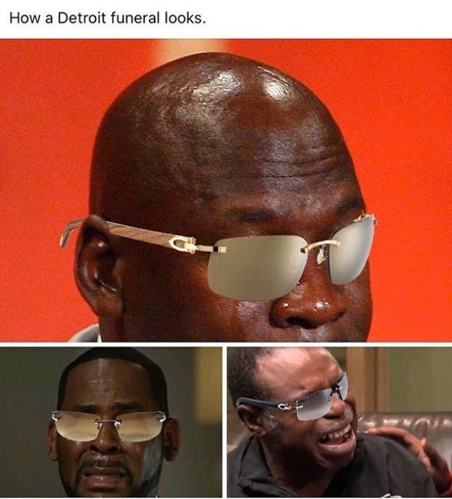 Sunglasses is thug tear repellent