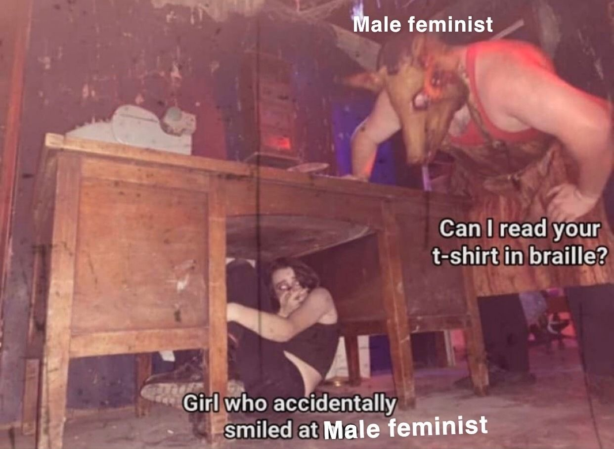 Feminism is for simps