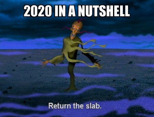 My feelings about 2020